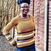 Ibukun Striped Sweater pattern