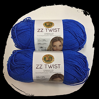3 Pack Lion Brand ZZ Twist Yarn-Coral