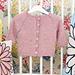 Diamond Baby Cardigan pattern