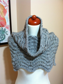 Ravelry: Knitted Cowl Hood pattern by Lion Brand Yarn