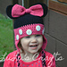 Minnie Mouse Toddler Hat pattern