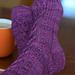 Interlaced Socks pattern