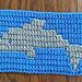 Mosaic Dolphin pattern
