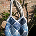 Syncopation - Mitered Bag pattern