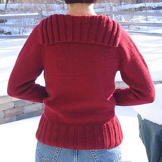 sweater back