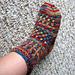 Raindrop Socks pattern