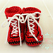 Boxing Baby Shoes pattern