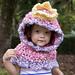 Princess Hooded Cowl pattern