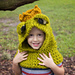 Frog Prince Hooded Cowl pattern