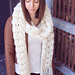 Alamos Crochet Big Scarf pattern