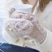 Chambord Knit Mittens pattern