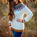 Traveler Fair Isle Crochet Sweater pattern