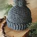 Extended Half Double Crochet Hat pattern
