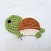 Tiny Turtle Applique pattern