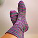 My Favorite Vanilla Sock pattern