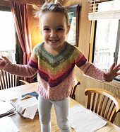 My adorable grandniece, Ryla - age 3
