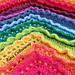 Petals In The Wind Blanket pattern