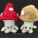 Mushroom Buddies Amigurumi pattern