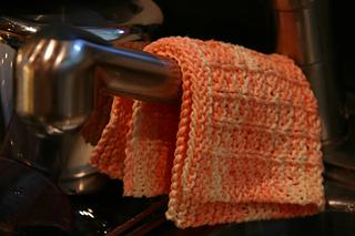 Waffle weave dishcloth