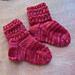 Wiggles Baby Socks / Babysokje Wiggles pattern