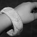 Cabled Bangle Bracelet pattern