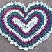 Crochet Heart Original Rag Rug Pattern pattern