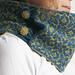 La Dea Fortuna - double-sided cowl pattern