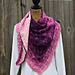 Southern Diamonds Asymmetrical Shawl pattern