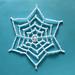 A Star Snowflake pattern