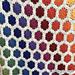 Rosella Flower Hexagon pattern