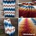 Stitched Up Chevron pattern