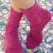 May Day Flower Socks pattern