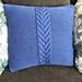 Waterfall Pillow Covers pattern
