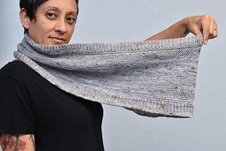 Yarn by The Wandering Flock, knit by Aracely