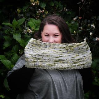 Yarn by Happy Hank Yarns, knit by Sarah