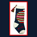 The Ornament Christmas Stocking pattern