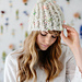Ribby Slouch Beanie pattern