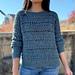Bead Stitch Crochet Sweater pattern