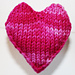 Sock Yarn Hearts Bunting pattern