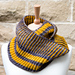 Double Yellow Cowl pattern