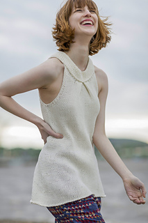 Astoria from Knitted Tanks and Tunics by Angela Hahn