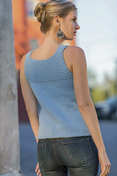 Atlanta Tank from Knitted Tanks and Tunics by Angela Hahn