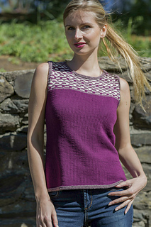Beverly from Knitted Tanks and Tunics by Angela Hahn