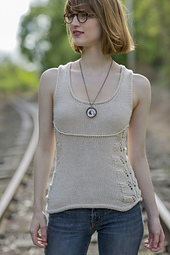 Greenville from Knitted Tanks and Tunics by Angela Hahn