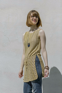 Odessa from Knitted Tanks and Tunics by Angela Hahn