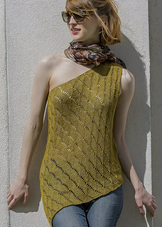 Yuma from Knitted Tanks and Tunics by Angela Hahn