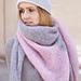 Silkycloud shawl pattern