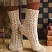 Vokuhila Socks pattern