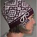 Blackberry Hat/Bjørnebærlue pattern