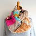 Handspun Art Yarn Cowl pattern